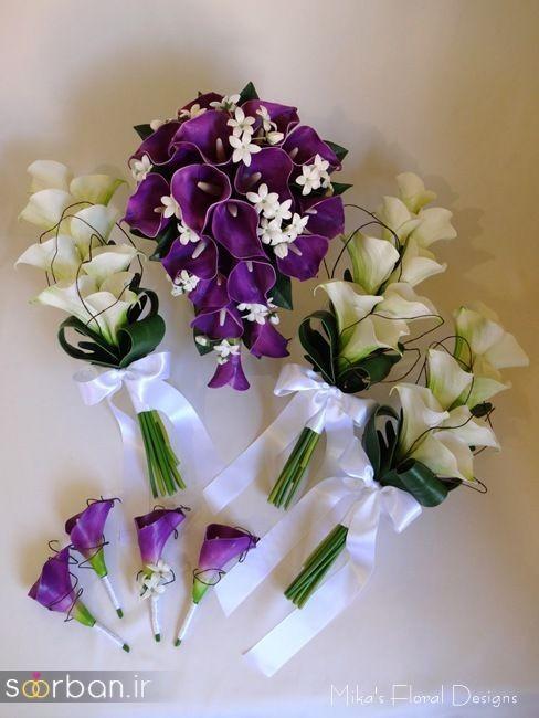 دسته گل عروس شیپوری 6
