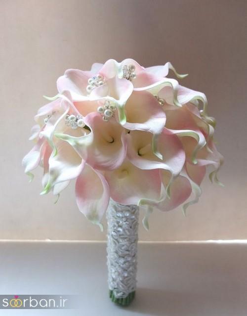 دسته گل عروس شیپوری 3