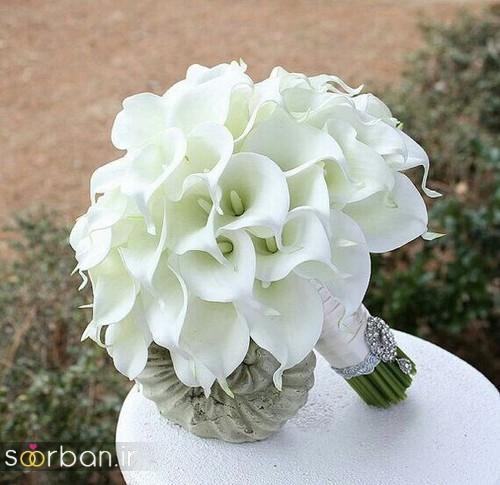 دسته گل عروس شیپوری 8