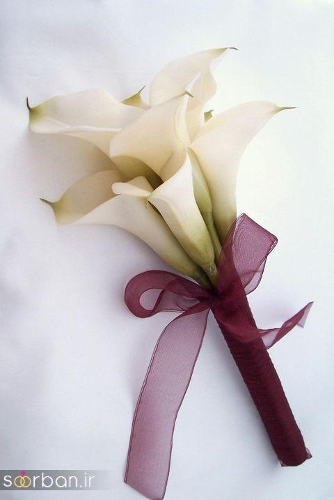 دسته گل عروس شیپوری 9