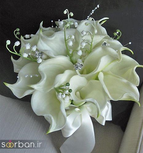 دسته گل عروس شیپوری 10