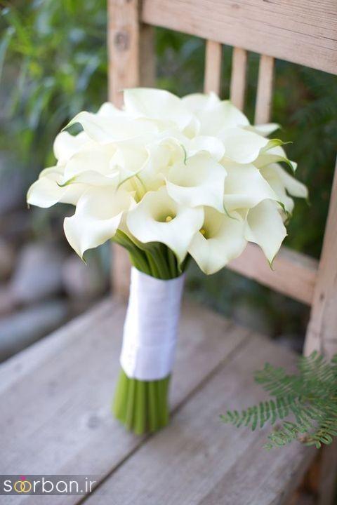 دسته گل عروس شیپوری 18