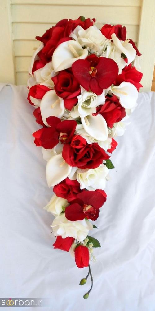دسته گل عروس شیپوری 19