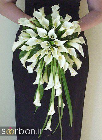 دسته گل عروس شیپوری 21