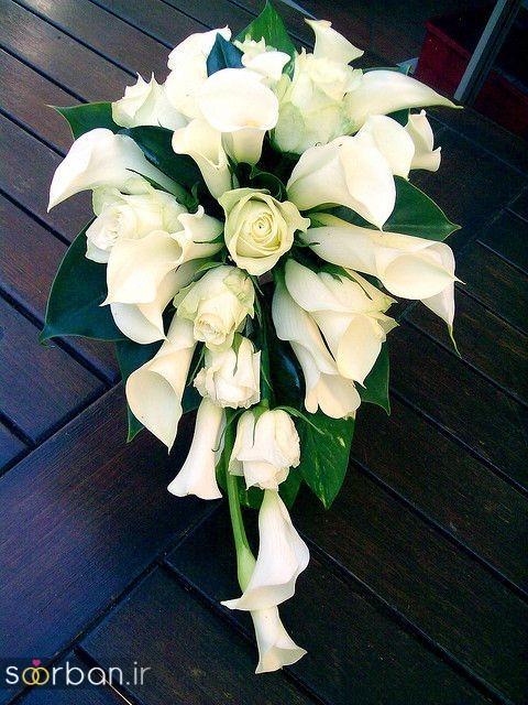 دسته گل عروس شیپوری 22
