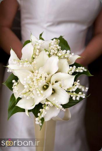 دسته گل عروس شیپوری 23