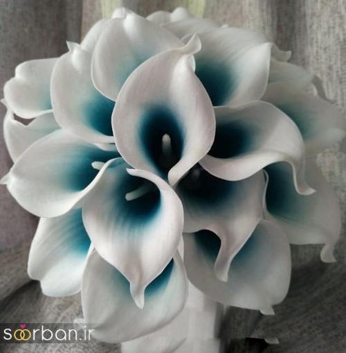 دسته گل عروس شیپوری 24