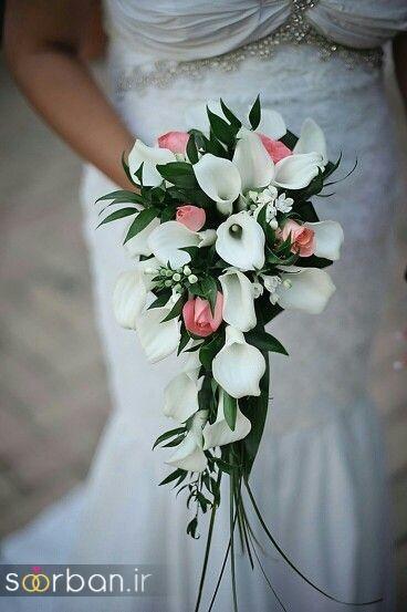 دسته گل عروس شیپوری 25