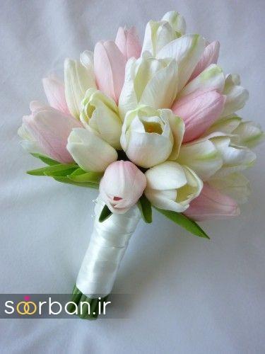 دسته گل عروس لاله 6