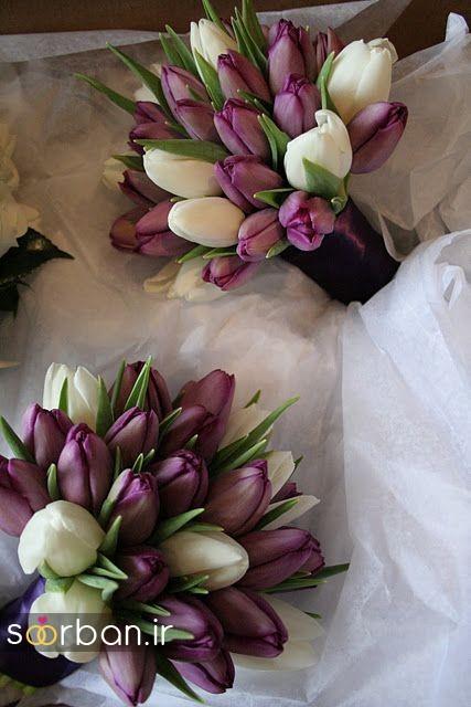 دسته گل عروس لاله 3