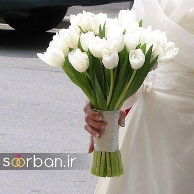 دسته گل عروس لاله 10