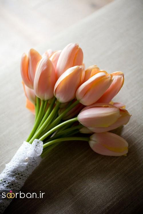دسته گل عروس لاله712