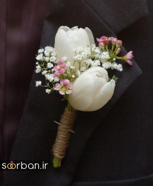 دسته گل عروس لاله 22