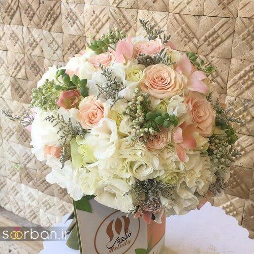 دسته گل عروس ایرانی جدید-1