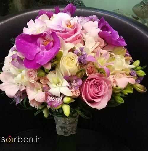 دسته گل عروس ایرانی جدید-2