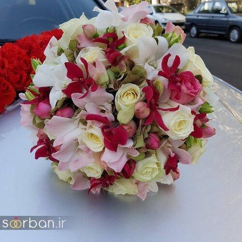 دسته گل عروس ایرانی جدید-3