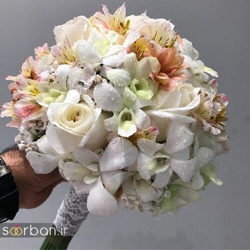 دسته گل عروس ایرانی جدید-9