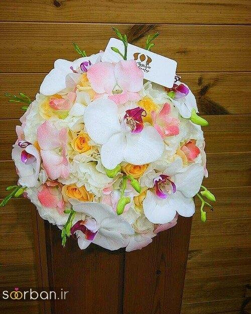 دسته گل عروس ایرانی جدید-10