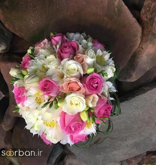 دسته گل عروس ایرانی جدید-11