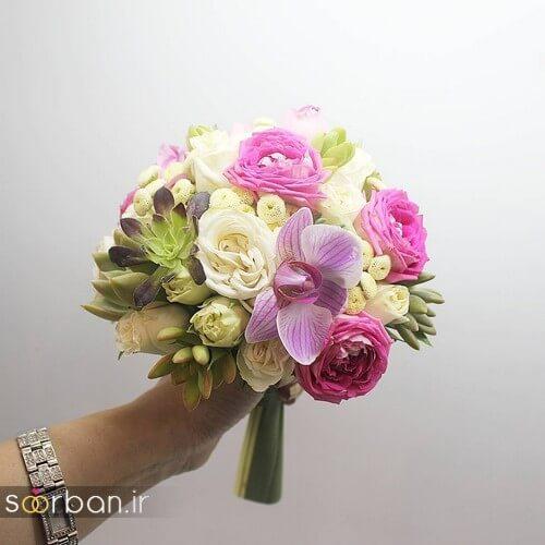 دسته گل عروس ایرانی جدید-13