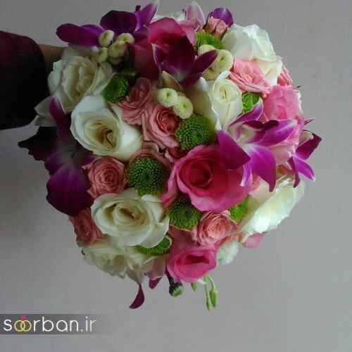 دسته گل عروس ایرانی جدید-14