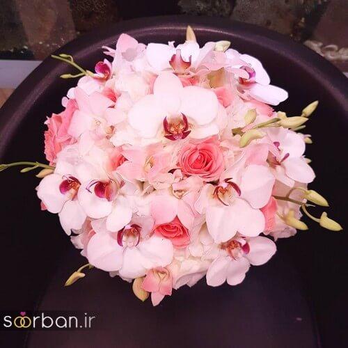 دسته گل عروس ایرانی جدید-15