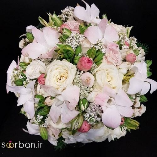 دسته گل عروس ایرانی جدید-16