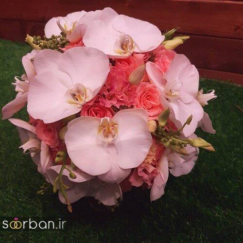 دسته گل عروس ایرانی جدید-18