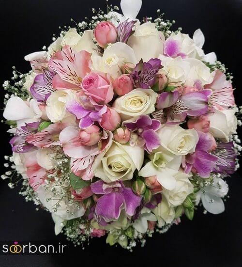 دسته گل عروس ایرانی جدید-19