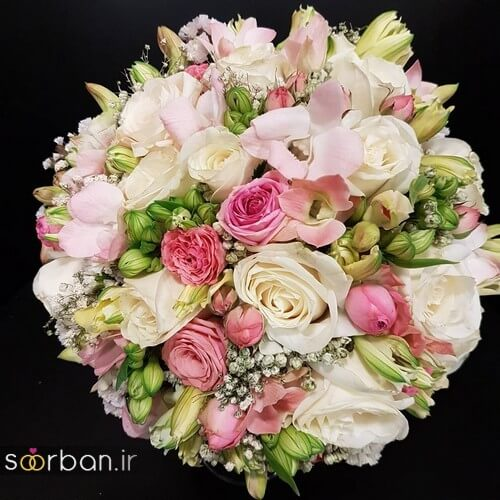 دسته گل عروس ایرانی جدید-20