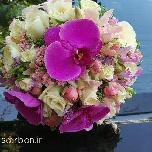 دسته گل عروس ایرانی جدید-21