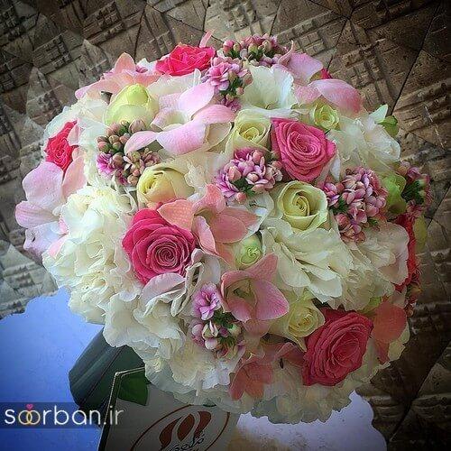 دسته گل عروس ایرانی جدید-22