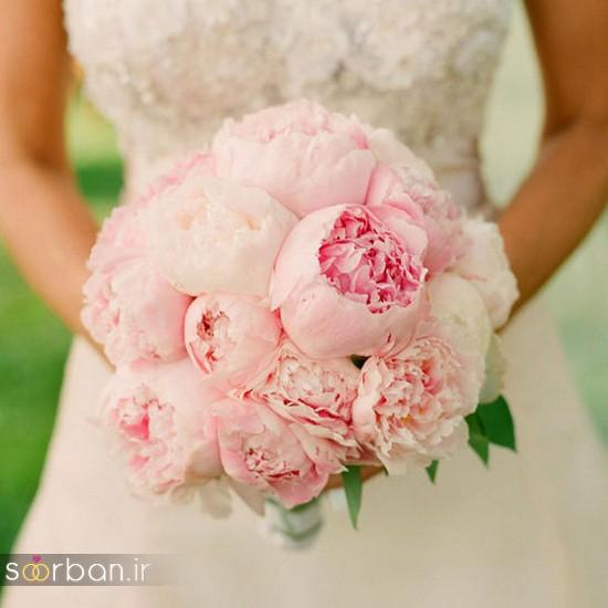 دسته گل عروس بهاری با گل های زیبا و رنگارنگ -11