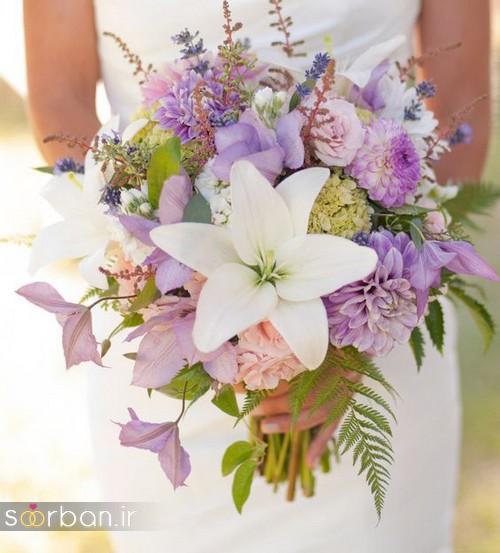 دسته گل عروس لیلیم1