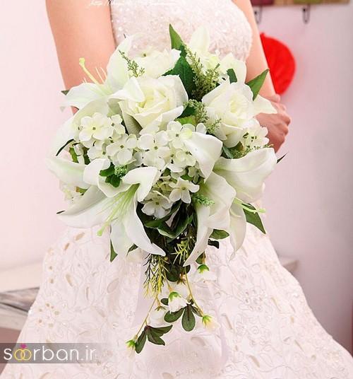 دسته گل عروس لیلیم5