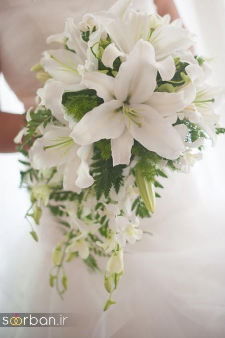 دسته گل عروس لیلیم8