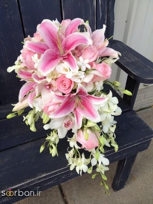 دسته گل عروس لیلیم11