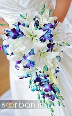 دسته گل عروس لیلیم13