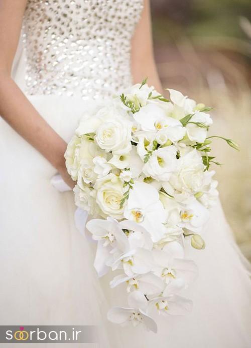 دسته گل عروس ارکیده1