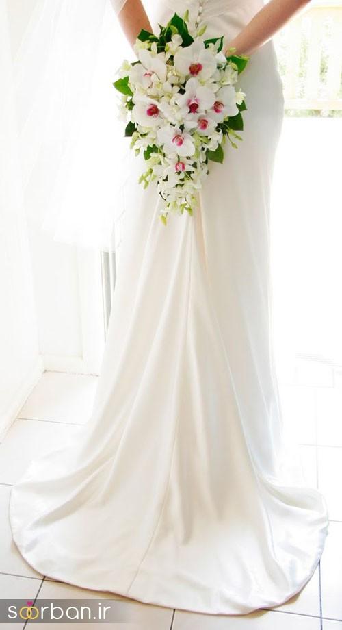 دسته گل عروس ارکیده2