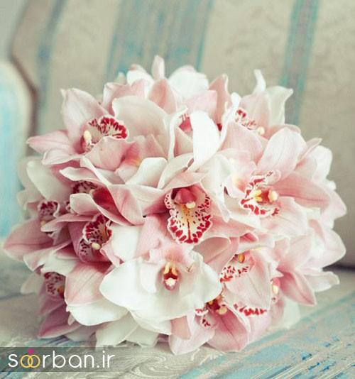 دسته گل عروس ارکیده7