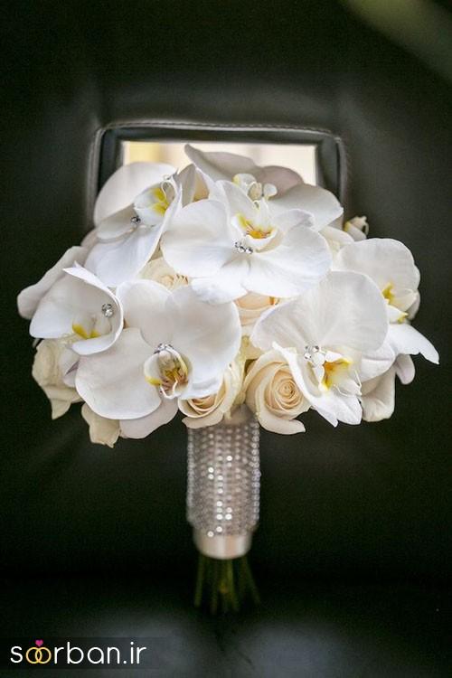دسته گل عروس ارکیده10