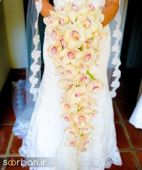 دسته گل عروس ارکیده11