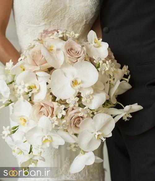 دسته گل عروس ارکیده12