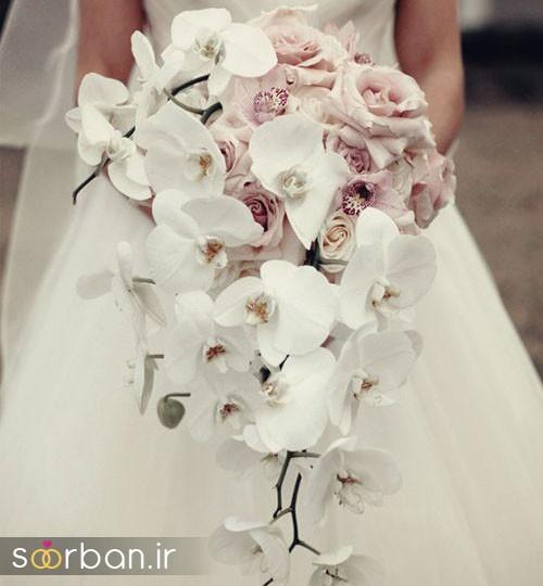 دسته گل عروس ارکیده13