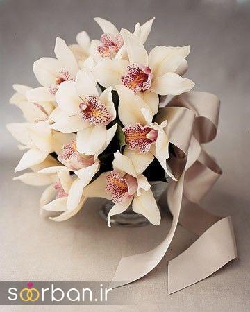 دسته گل عروس ارکیده15