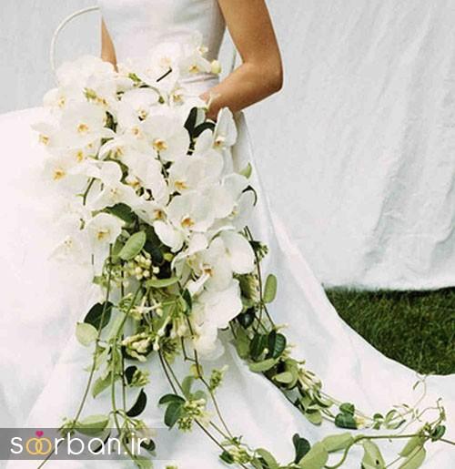 دسته گل عروس ارکیده16
