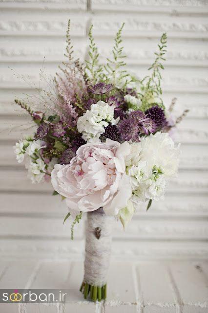 دسته گل عروس مصنوعی فوق العاده زیبا و جدید-5