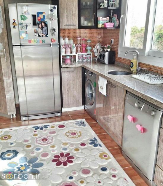 فرش آشپزخانه جهیزیه عروس-3