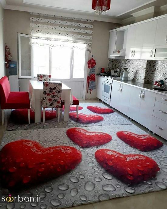 فرش آشپزخانه جهیزیه عروس-8